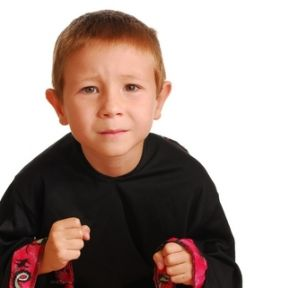 Bare-knuckle cage wrestling for 6-year-olds?
