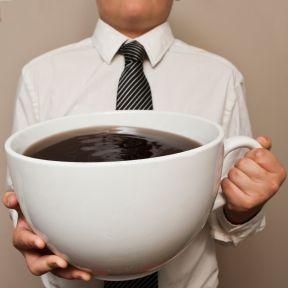 More Coffee, Less Bang?