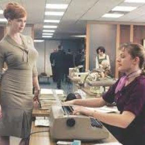 Peggy and Joan in Madmen: Women vs. Women vs. Men vs. Joke