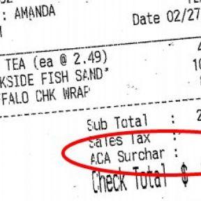 Has Obamacare Made Restaurants Partisan?