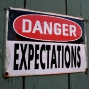 The secret of success: Lower your expectations