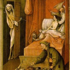 Death and the Miser, or Making Sure You Don't Leave the Most Important Things Behind