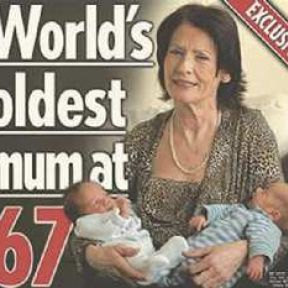 """Why """"Older"""" Mothers are Big News"""