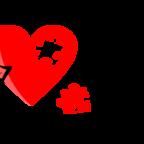 http://pixabay.com/en/love-heart-colorful-heart-349631/
