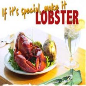 Only serial killers deserve to eat lobster