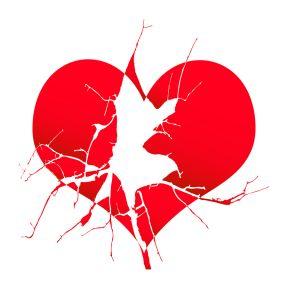 Broken Hearts are Real