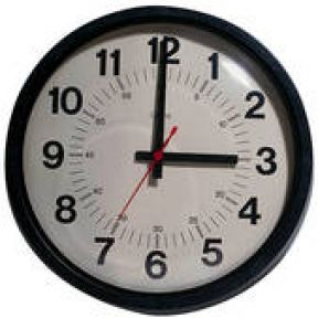 Set Your Clocks to Now