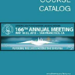 The APA Annual Meeting: A Brief Review