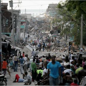 One way of helping the people of Haiti