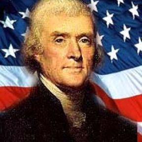 Did Thomas Jefferson like flapping his hands?