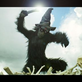 The Caveman Goes to Hogwarts
