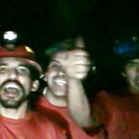 Boss Luis Urzua and the Trapped Miners in Chile