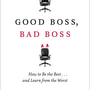Good Boss, Bad Boss is on The New York Times Bestseller List
