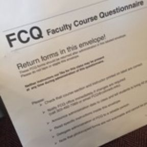 The Case of the Consecutive Course Questionnaires