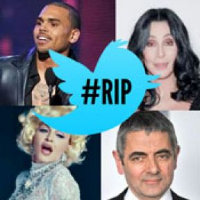 #RIP Twitter Celebrity Death Hoaxes
