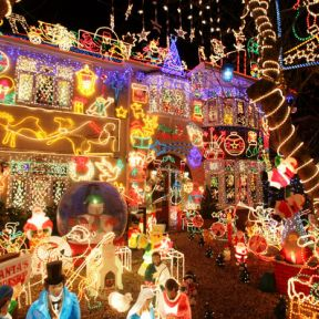 Christmas, perception, and the lights of Co-op City