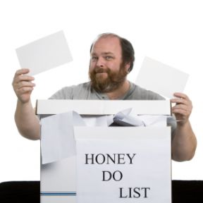 "Disgruntled partners defend ""honey-do"" lists"