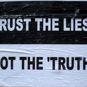 """Why People Live With """"Private Truths"""" Beneath Their """"Public Lies"""""""