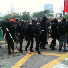 Anger at the G20 in Toronto