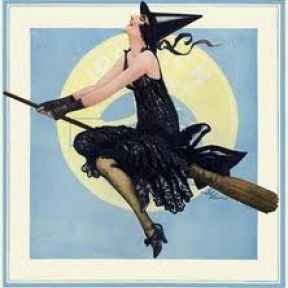 How Did Witches Fly on Broomsticks?