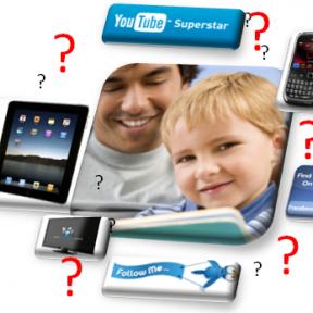 "Do ""Tech World"" Parents Read Books?"