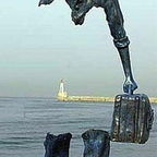 Empty Man Statue
