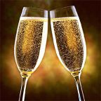 Champagne Good for the Heart. A Toast to Your Health!