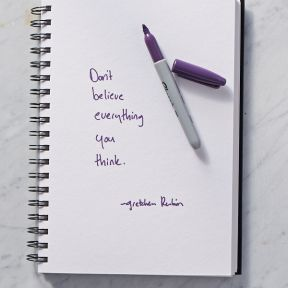 Secret of Adulthood: Don't Believe Everything You Think