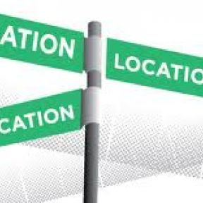 Location, Location, Location—You Are Where You Live