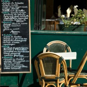 The French food route to recovery