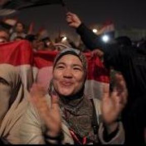 From Egypt: A triumph for the human spirit
