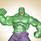 Picture of 'The Hulk' action figure