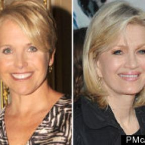 Are Katie Couric and Diane Sawyer Perched on a Glass Cliff?