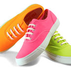 neon-colored Keds sneakers