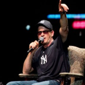 You Know Your Life Is Absurd: When Charlie Sheen Starts Yelling at You From the Stage