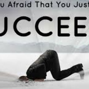 Fear of Success Masquerading as Fear of Failure