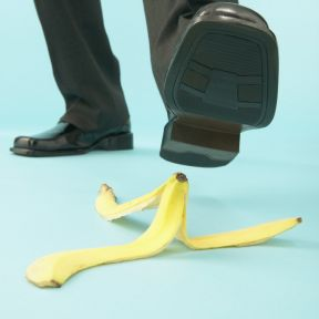 When Life Hands You Banana Peels…Slide, Learn, and Move On