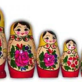 Stack the Russian Nesting Dolls