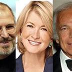 Steve Jobs, Martha Stewart, Ralph Lauren photo