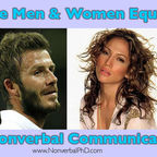 Are Man and Woman Equals in Nonverbal Communication?