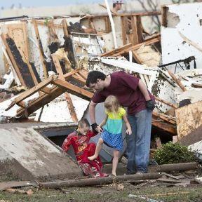 Stubborn, defiant  Attitudes in Tornado Alley