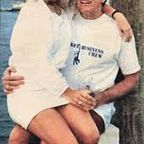 US Presidential Candidate Gary Hart with Donna Rice