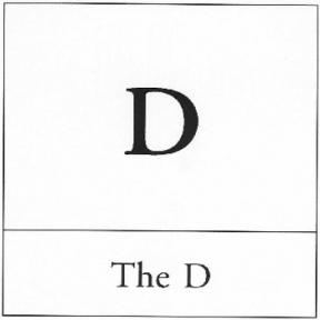 Homo Professoris, Part III: The 'Show Me Your Big D' Lecture