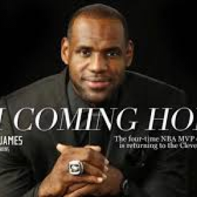 "LeBron James to Cleveland: ""I'm Coming Home."""