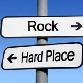 The Rock and the Hard Place