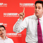 Ed and Dave Milliband