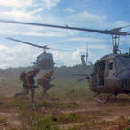 UH-10 Helicopters in Vietnam 1966,no copyright necessary