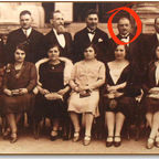 The Kornmehls of Vienna with Freud's butcher, Siegmund Kornmehl, circled in red