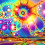 Kaleidoscopic geometric patterns are common in DMT visions; in NDEs, not so much