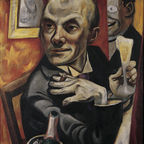 max beckmann, self portrait